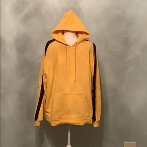 Yellow and Navy Hoodie
